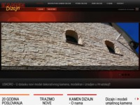 Frontpage screenshot for site: (http://www.podne-zidne-obloge.com)