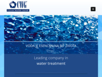 Slika naslovnice sjedišta: CWG - Tretman i obrada pitkih bazenskih, tehnoloških, procesnih i otpadnih voda (http://cwg.hr/)