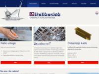 Frontpage screenshot for site: Italikacink d.o.o (http://www.italikacink.hr/hr/)