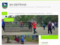Slika naslovnice sjedišta: Istarski pljočkarski savez (http://www.ips-pljockanje.hr)