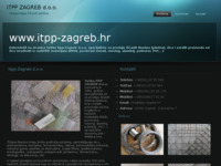 Frontpage screenshot for site: ITPP ZAGREB d.o.o. (http://www.itpp-zagreb.hr)