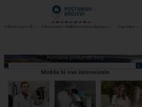 Frontpage screenshot for site: Poštanski Brojevi Hrvatske (http://www.postanskibrojevi.com.hr/)