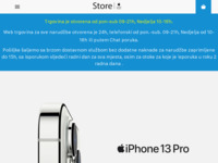 Frontpage screenshot for site: Store Apple Premium Reseller (http://www.store.com.hr)
