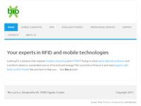 Frontpage screenshot for site: Bio-X (http://www.bio-x.hr)