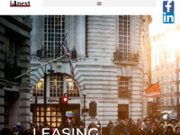 Frontpage screenshot for site: i4next leasing Croatia d.o.o. (http://www.i4next.hr)