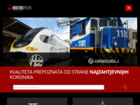 Frontpage screenshot for site: Industrooprema (http://industrooprema.hr)