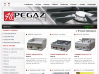 Frontpage screenshot for site: Pegaz Grupa d.o.o. (http://www.pegaz.hr)