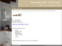 Slika naslovnice sjedišta: Stolarski obrt Kruljac (http://www.stolarski-obrt-kruljac.hr/)