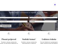 Frontpage screenshot for site: Global Link (http://www.global-link.hr/)