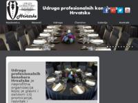Slika naslovnice sjedišta: Udruga profesionalnih konobara Hrvatske (http://www.konobari.com.hr)
