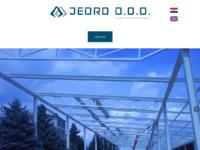 Slika naslovnice sjedišta: Jedro d.o.o. (http://www.jedro.hr)