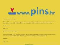 Slika naslovnice sjedišta: Pins d.o.o. - Rezervni dijelovi, gume i građevinska oprema (http://pins.hr)