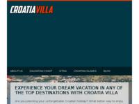 Frontpage screenshot for site: Rent Holiday Villa (http://www.croatiavilla.net/)