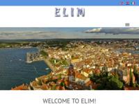 Frontpage screenshot for site: Elim - upravljanje nekretninama i turistička agencija Rovinj (http://www.elim.hr)