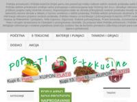 Frontpage screenshot for site: Svijet pare e cigareta (http://svijet-pare.com/)