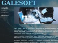 Slika naslovnice sjedišta: GaleSoft (http://www.gale.hr)