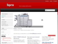 Frontpage screenshot for site: Servis i prodaja uredske opreme Kopirex (http://www.kopirex-servis.hr)
