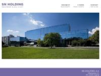 Slika naslovnice sjedišta: SN Holding d.d. (http://www.snholding.hr)