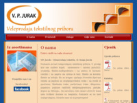 Slika naslovnice sjedišta: VP Jurak (http://www.vp-jurak.hr)