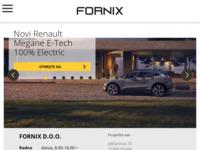 Slika naslovnice sjedišta: Fornix Osijek - Renault, Nissan, Dacia (http://www.fornix.biz)