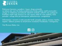 Slika naslovnice sjedišta: Riviera dekor (http://www.rivieradekor.hr/)
