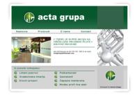 Slika naslovnice sjedišta: Acta Grupa (http://www.actagrupa.hr)