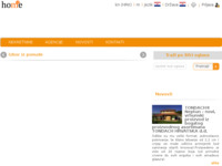 Frontpage screenshot for site: Home Square - portal za prodaju i najam nekretnina (http://hom2e.com)
