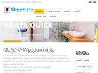 Slika naslovnice sjedišta: Quadrata - podovi i vrata (http://www.quadrata-trgovina.hr/)