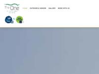 Frontpage screenshot for site: The One Istria - luksuzni smještaj (http://www.theone-istria.com/)