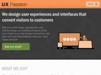 Slika naslovnice sjedišta: UX Passion – Agencija za dizajn i razvoj weba i korisničkih iskustava (http://www.uxpassion.com)