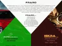 Frontpage screenshot for site: Fraro d.o.o. (http://fraro.hr)