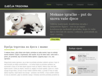 Frontpage screenshot for site: (http://www.djecja-trgovina.com.hr/)