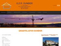 Slika naslovnice sjedišta: Graditeljstvo Dunder (http://www.graditeljstvo-dunder.hr)