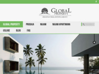 Frontpage screenshot for site: Global Property (http://www.global-property.hr/)