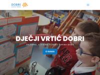 Frontpage screenshot for site: DV Dobri - Zajedno, u visinu tijela i širinu duha. (http://www.dv-dobri.hr)