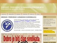 Slika naslovnice sjedišta: Sindikat primorsko-goranskih komunalaca (http://www.sindikat-primorsko-goranskih-komunalaca.hr)