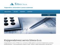 Slika naslovnice sjedišta: Knjigovodstveni servis Littera d.o.o. (http://www.litteraka.hr)