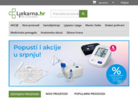 Frontpage screenshot for site: Ljekarna.hr - Vaša internet ljekarna (http://ljekarna.hr)