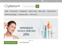 Slika naslovnice sjedišta: Ljekarna.hr - Vaša internet ljekarna (http://ljekarna.hr)