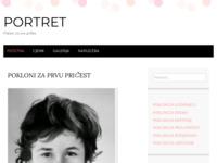 Frontpage screenshot for site: Portret - poklon za sve prilike (http://poklonizasveprilike.wordpress.com/)