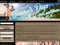 Frontpage screenshot for site: Kameja d.o.o. - zastupnik za Artdeco i Phyris kozmetiku (http://www.kameja.hr)