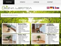 Frontpage screenshot for site: Zelena ljepotica - Green beauty (http://www.zelenaljepotica.com)