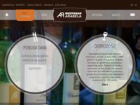 Frontpage screenshot for site: Restoran Arabela (http://arabela-restoran.hr/)