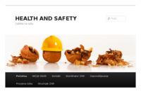 Slika naslovnice sjedišta: Health and Safety - Zaštita na radu (http://www.healthandsafety.com.hr)