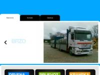 Frontpage screenshot for site: (http://www.autoprijevoz-miran.hr)