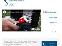 Slika naslovnice sjedišta: Vodoinstalater Sučić - Hitne intervencije  0 - 24 (http://vodoinstalater-sucic.hr/)