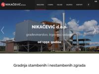 Slika naslovnice sjedišta: Nikačević d.o.o. (http://www.nikacevic.hr)