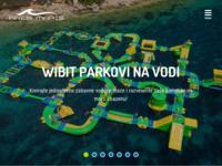 Slika naslovnice sjedišta: Area maris d.o.o. - vodeni parkovi (http://areamaris.hr)