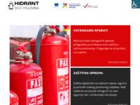 Slika naslovnice sjedišta: Hidrant d.o.o. (http://www.hidrant.hr)
