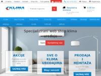 Frontpage screenshot for site: M&J elektronik (http://www.mj-elektronik.hr)